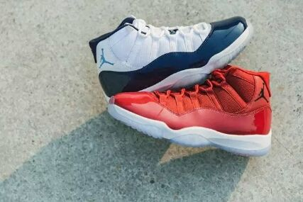 b915965d55cf ir Jordan 11 Win Like 82 Midnight Navy   Air Jordan 11 Retro Win Like 96  Gym Red
