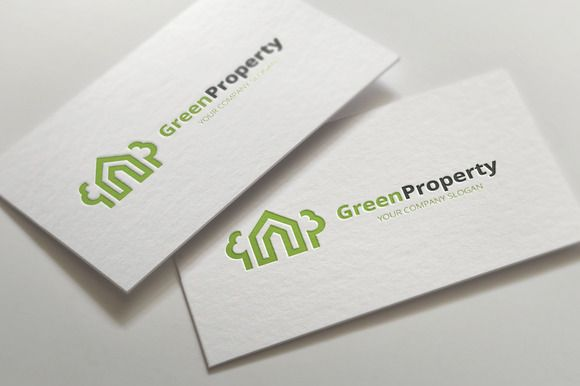 Green Property by Super Pig Shop on @creativemarket