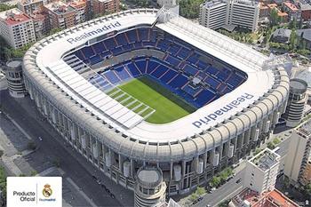 Estadio Santiago Bernabeu Real Madrid Stadium