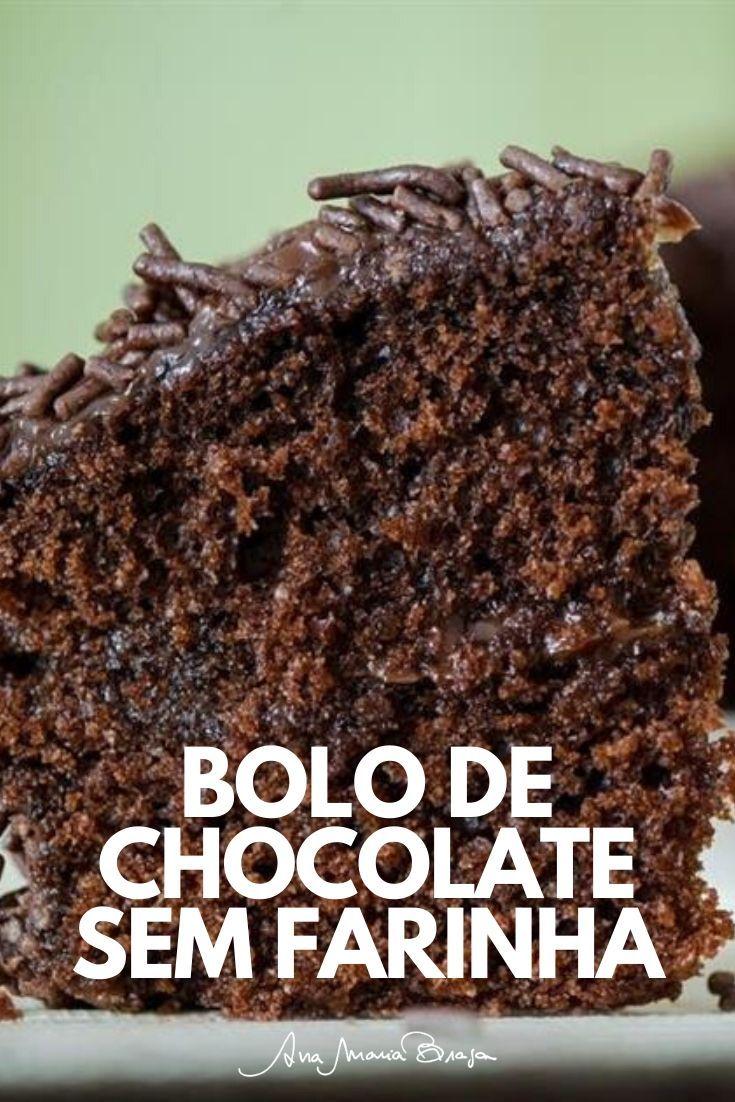 Bolo De Chocolate Com Coco Sem Gluten Com Imagens Bolo