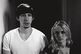 Adam Driver and his wife Joanne Tucker in the short film The Basement.
