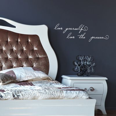 Love this wall quote decal and the message it portrays from dali decals