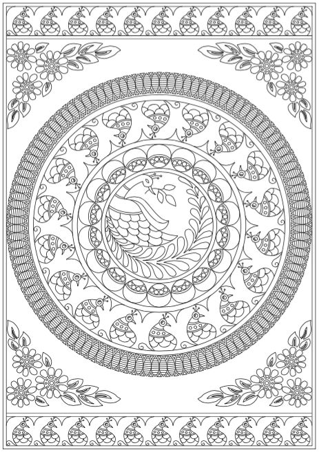 101 best Mandalas Coloring Pages for Adults images on Pinterest