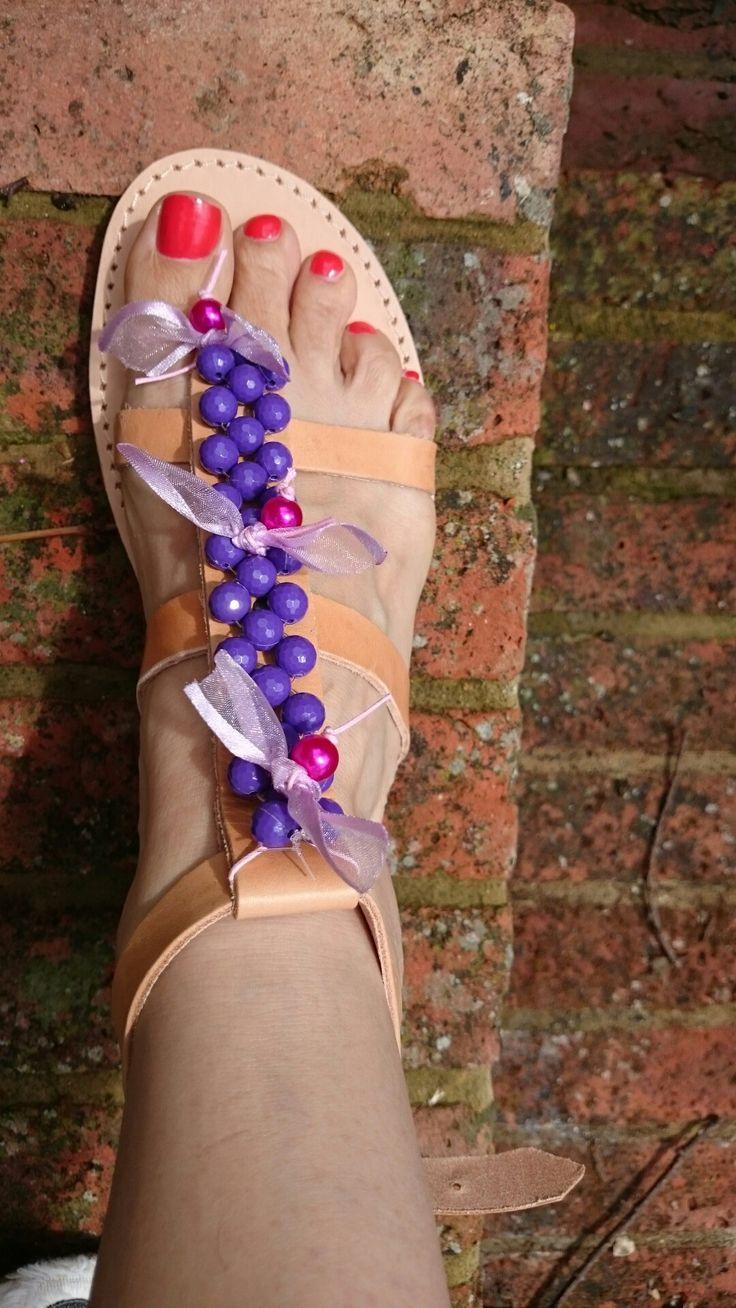Handmade  Greek sandals!!