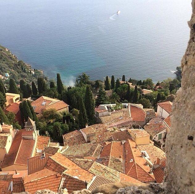 "latouchefr: "" Roquebrune-Cap Martin https://instagram.com/p/BEV0be2A7ZN/ """