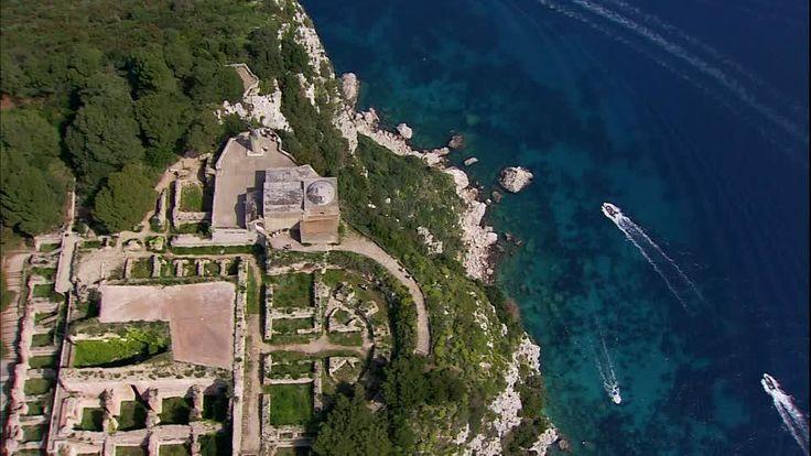 Capri. Villa Jovis. Imperatore Tiberio