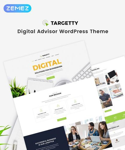 A fresh and crispy website that make visitors feel themselves in the middle of a park - that is exactly what a modern advertising agency needs. It will do half of the job for your company - Targetty WordPress template will attract the audience, impress visitors and ensure that they've come to the right place.  #wordpress #templatedesign #webdesign #advertising #agency