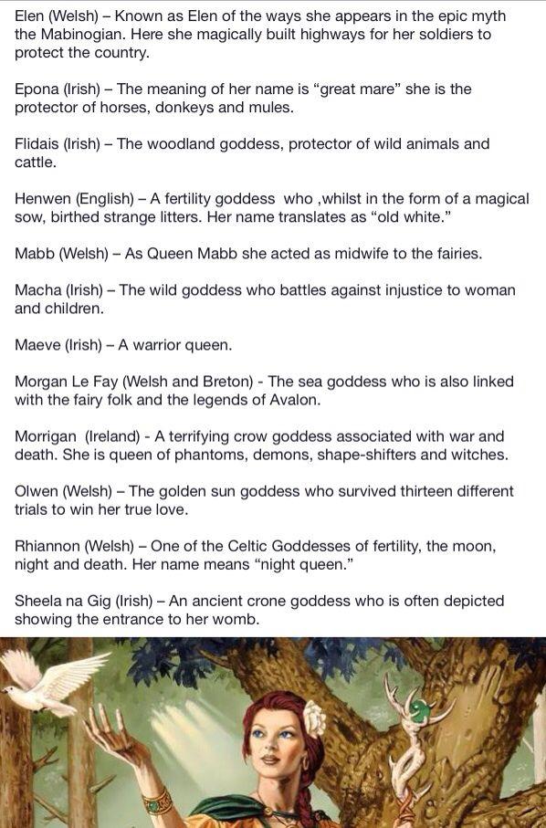 Celtic God mad goddess age 2