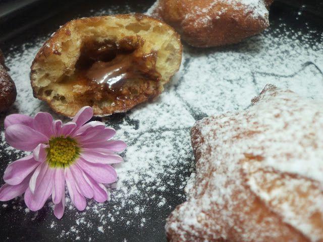 La cucina dello Stregone: Stelle di Krapfen con strega alla Nutella