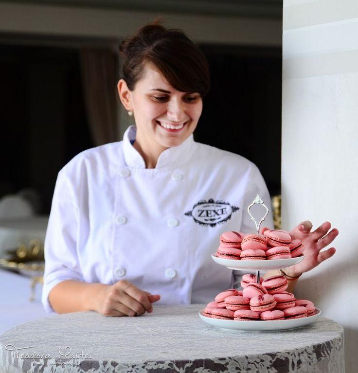 Cofetarul Ana Consulea, de la Zexe Cofeturi, te invata sa faci macarons - foodstory.stirileprotv.ro