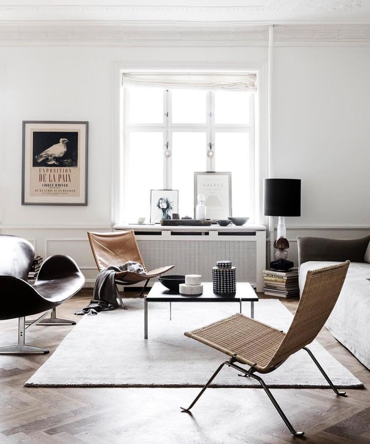 Neutral coloured living room IG:linethitklein