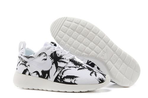 huge selection of 8678b 92f05 lowest price Nike London Olympic Roshe Run Womens Palm Trees Coal Black  Summit White 511882 118 shoes 2015