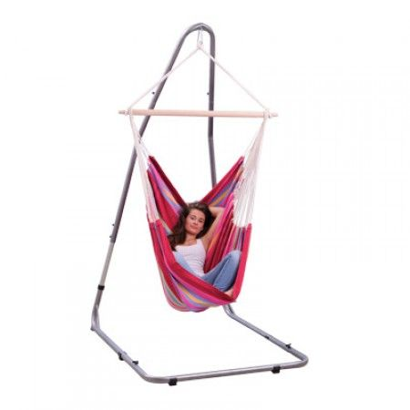 Single hammock chair stand