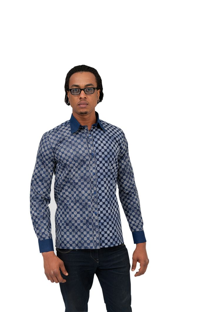UNIWAX Wax Recto verso  #African fashion #Mode Africaine #homme