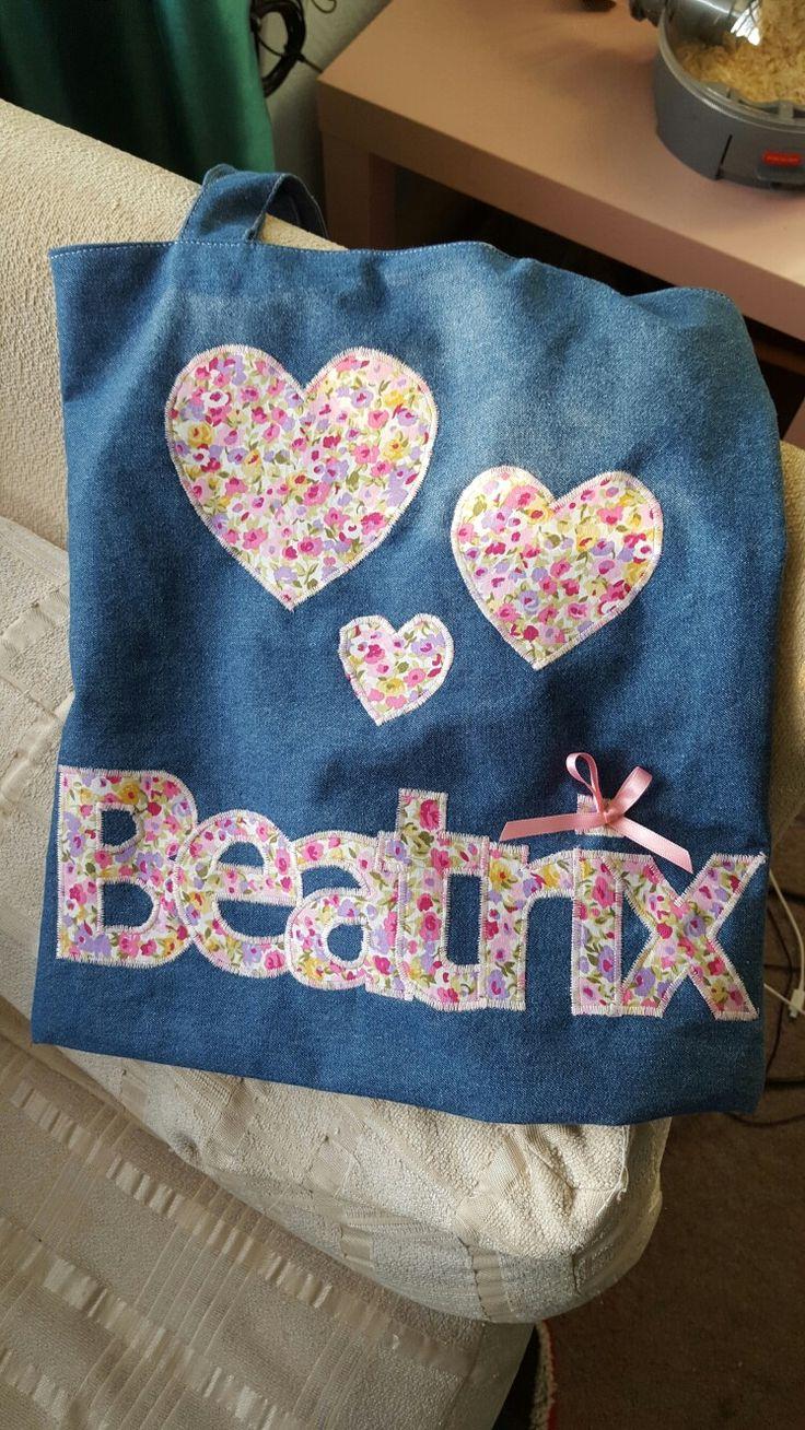 Denim bag for Beatrix