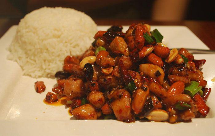 Szechuan Chicken Best Szechuan Chicken Chinese Takeout Recipe Szechuan Chicken Chicken Recipes Recipes