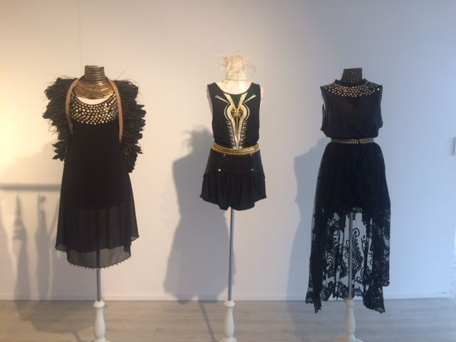 BLACK & GOLD   Our latest Mannequin display in IXIAH Warringah
