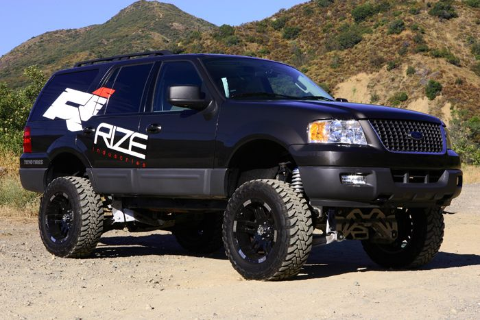 """RIZE 2003-'06 Ford Expedition 4wd 8"""" Lift Kit"""