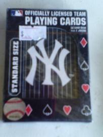 MLB NY Yankees Baseball Playing Cards New Free Shipping