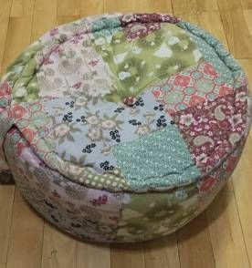 pufe patchwork