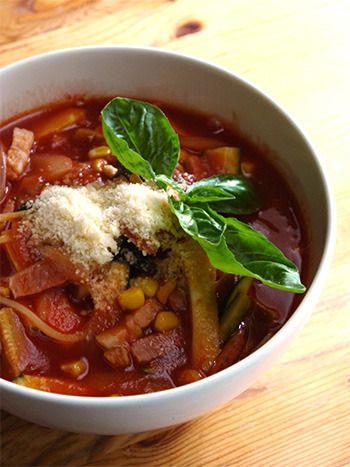 トマトジュースを使って、スープパスタ by たんぽぽさん | レシピ ...