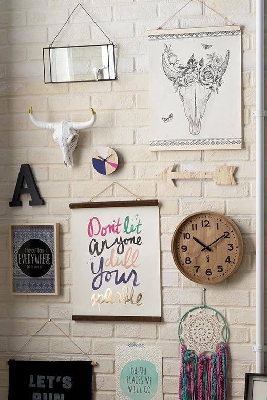 wooden poster hanger, VINTAGE