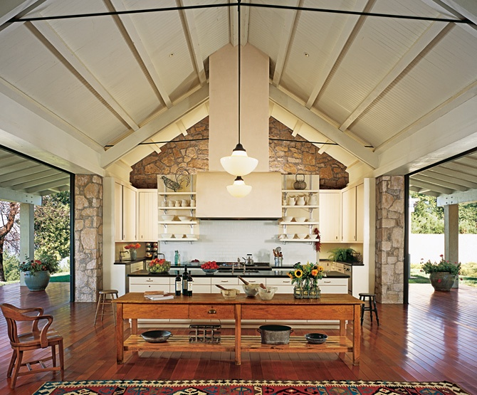 24 best betsy brown images on pinterest brown interior for Country outdoor kitchen