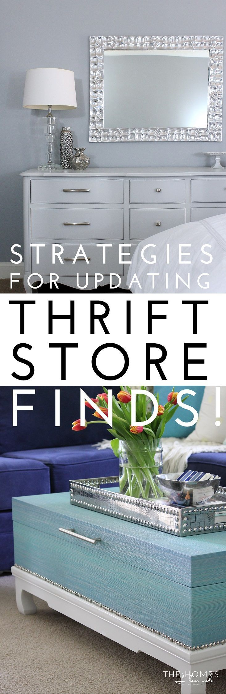 Strategies for Updaing Thrift Store Finds Title Image