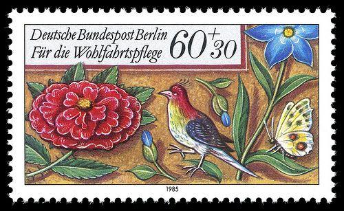 Art - Stamp Art - German - Flower - (2)