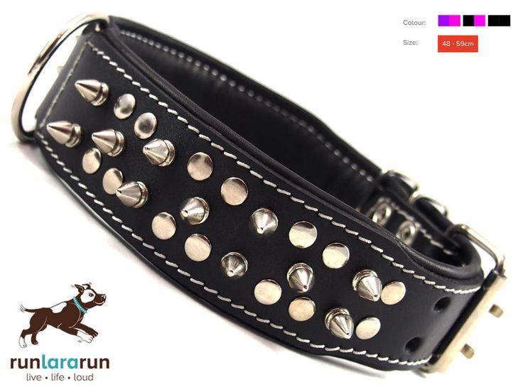 "runlararun - the best dog collars, leads and harnesses - ""Takora"" Collar - 5cm Width, $49.95 (http://www.runlararun.com/takora-collar-5cm-width/)"