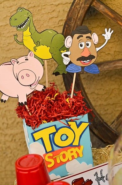 """Photo 1 of 42: Toy Story / Birthday """"Woody's Round Up"""" 