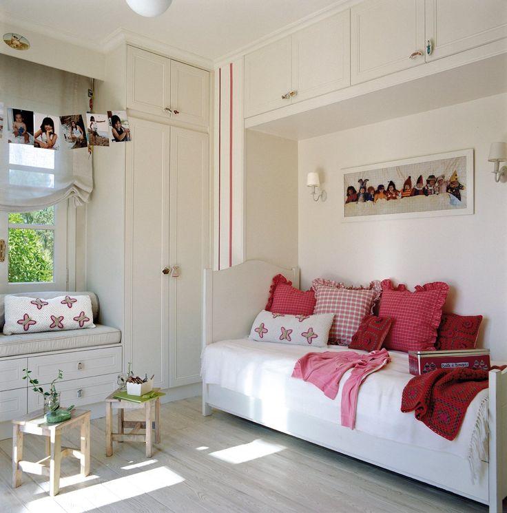 17 mejores ideas sobre pintura de dormitorio ni a en - Habitacion pequena nina ...