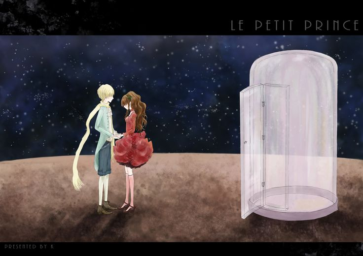 """""""There is a flower... I think that she has tamed me..."""" (The Little Prince)"""