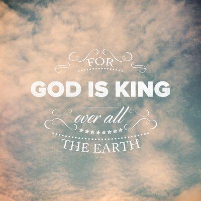 Psalm 47:7 Art Print