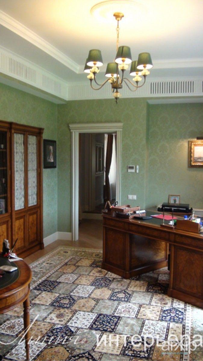 Кабинет в английском стиле: интерьер, квартира, дом, английский, 20 - 30 м2, кабинет рабочий #interiordesign #apartment #house #english #british #anglican #royal #20_30m2 #officeworker arXip.com