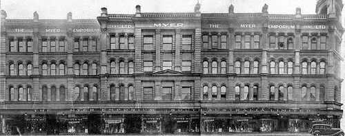 Myer Emporium on Rundle St,Adelaide in South Australia (year unkknown).