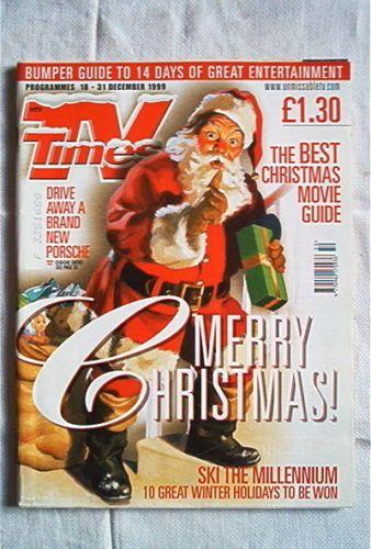 TV Times Magazine 18 31 Dec 1999 Christmas Issue   eBay