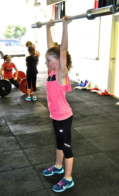 CrossFit For kids is scaled individually.