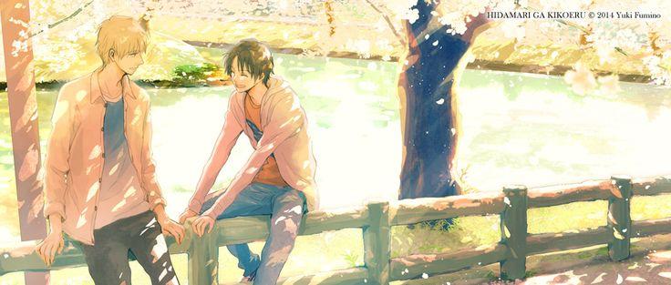 Hidamari ga Kikoeru licenciado por Milky Way Ediciones