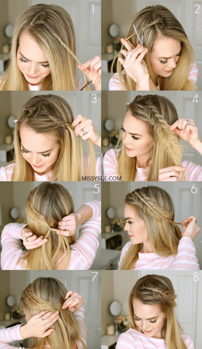 Hair Styles For School 12 Super Easy Hair Styles For Those Lazy Days Footsteps Hair Styles Long Hair Styles Cool Hairstyles