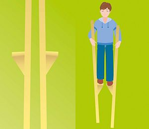 How to make your own stilts.  How fun would this be? Woodworking skills and circus arts combined!