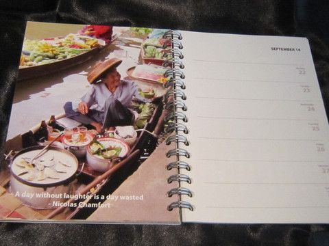 A5 Inspirational Diary - 52 Inspirational Quotations on spectacular scenery.  Come, be inspired!