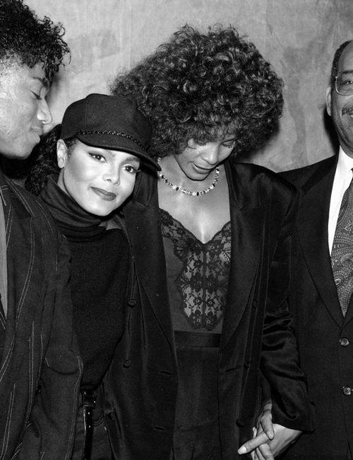 Janet Jackson & Whitney Houston