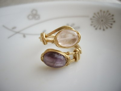 Double Stone Wired Ring                                                                                                                                                                                 もっと見る