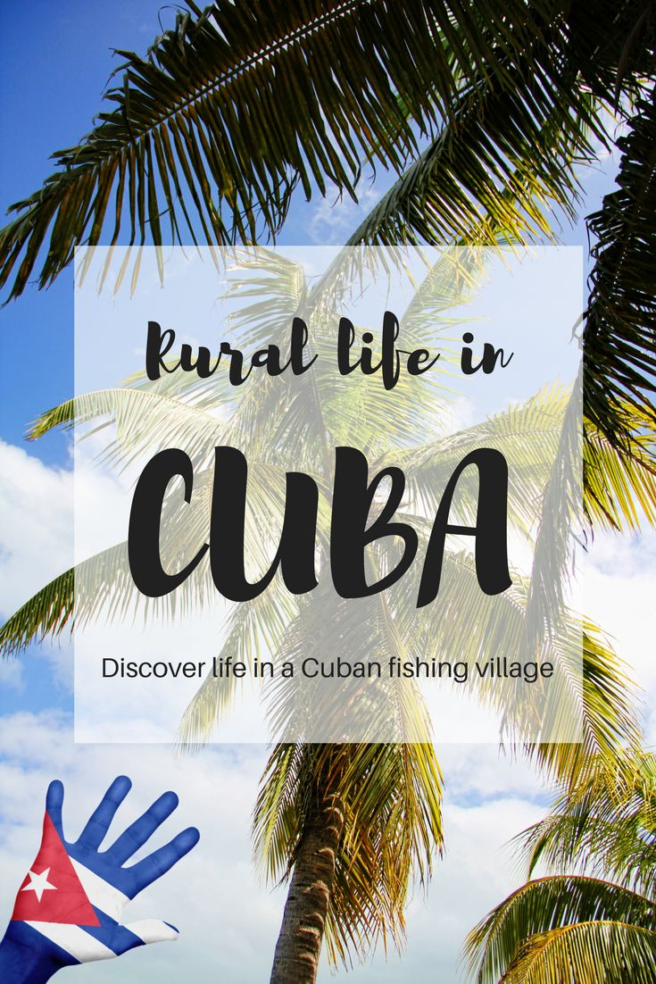 Rural life in Cuba: authentic Cuban villages tourists can visit. Click to read all about Boca de Sama, where you can learn about real life in rural Cuban communities and find out about the socialist system.  #Caribbean #Cuba #Responsibletravel