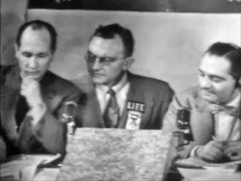 THE 1948 PRESIDENTIAL ELECTION (NBC-TV HIGHLIGHTS) - YouTube