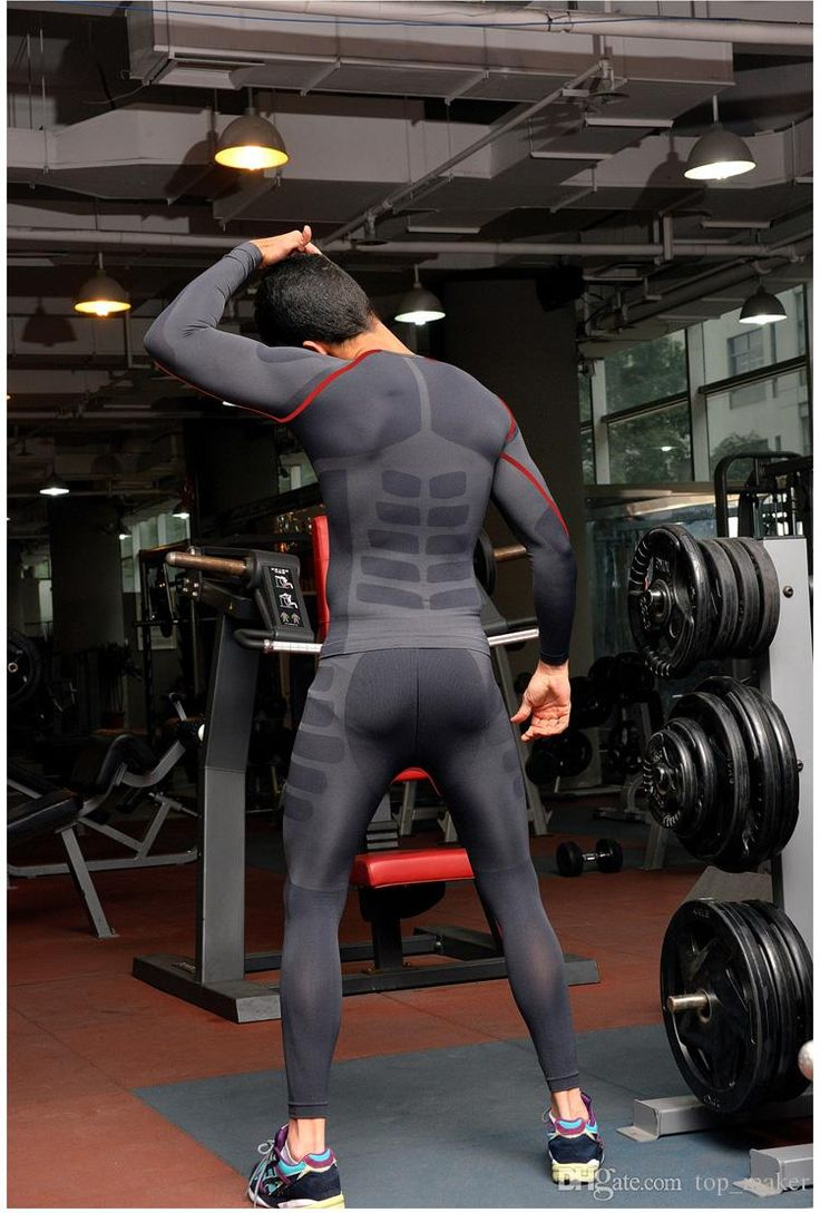 2015 Men Skinny Training Pants Cycling Pants Running Tght Athletics Suits Running Pants Sport Tights Activewear for Male.