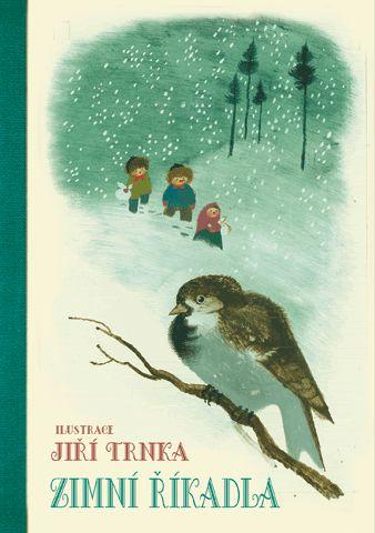 Zimní říkadla - ilustrace Jiří Trnka