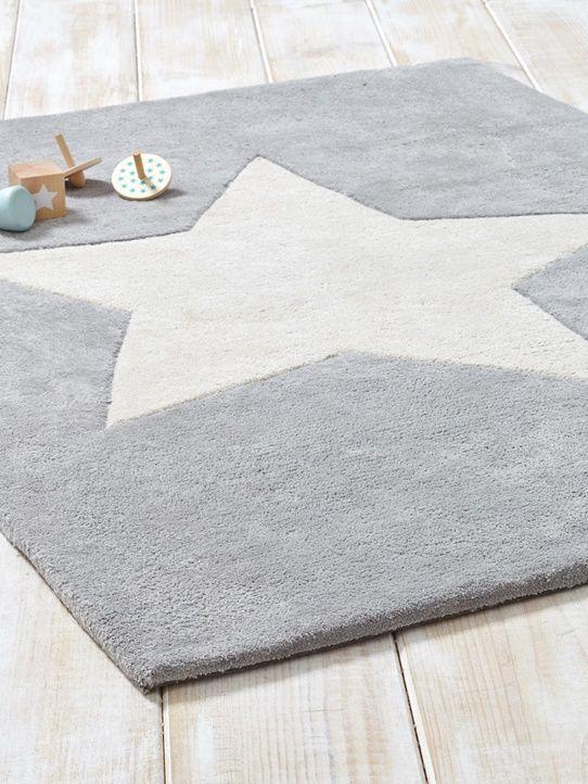 Tapis étoile pur coton
