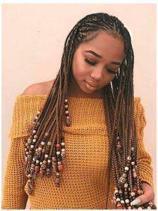 30 Lemonade Braid Hairstyles #Braid #hairstyles #…